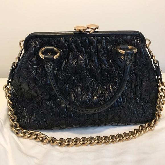 c656125a28 Marc Jacobs Bags | Authentic Black Stam Bag | Poshmark